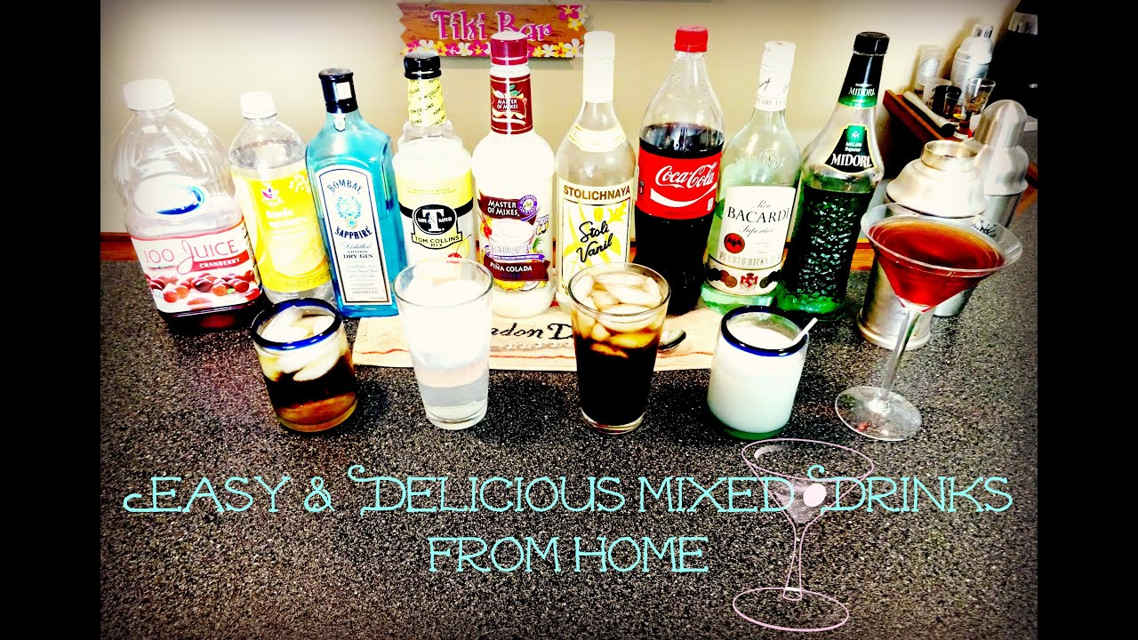 How to make easy and delicious mixed drinks from home day 22 youtube how to make easy and delicious mixed drinks from home day 22 sisterspd