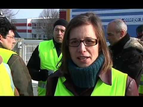 Mobilisation Des Enseignants à Pont-Sainte-Marie