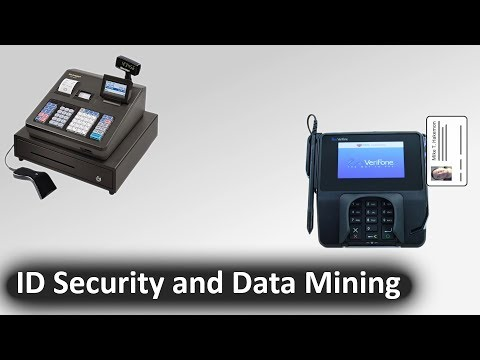 TechSchool - Retail Stores, ID Magstrip Data Mining And Security