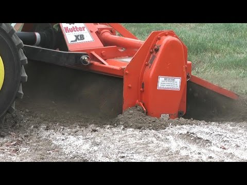 John Deere 1025R Deep Tilling with King Kutter XB (Who needs a plow?)