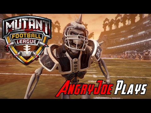 AngryJoe Plays Mutant Football League! [Kickstarter]