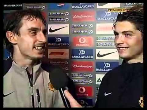 Cristiano Ronaldo Gary Neville Interview Funny