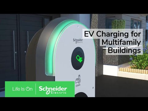 EVlink Pro AC Charging Stations — Right at Home in Residential Buildings | Schneider Electric