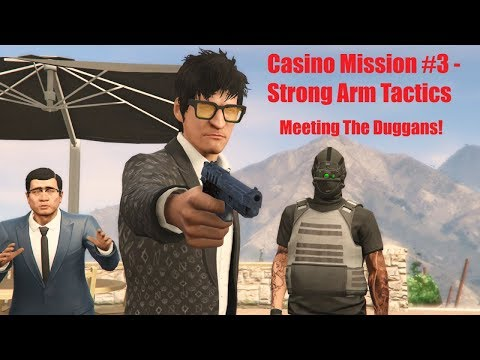 gta-online-|-meeting-with-the-duggan-family!-|-casino-mission-#3---strong-arm-tactics