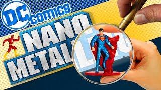 DC Comics Jada NANO MetalFigs and Batcave playest Extravaganza!