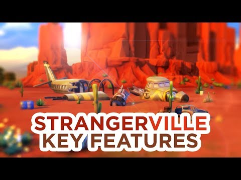 STRANGERVILLE: KEY FEATURES + DESCRIPTION // The Sims 4: News & Info thumbnail