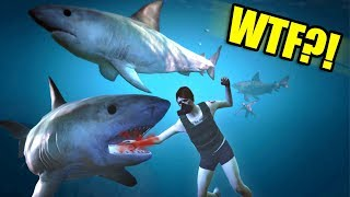 ATTACKING PEOPLE AS A SHARK ONLINE! | GTA 5 THUG LIFE #276