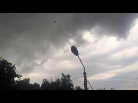 Ураган в Ельце, Липецкая область 30.06.2017