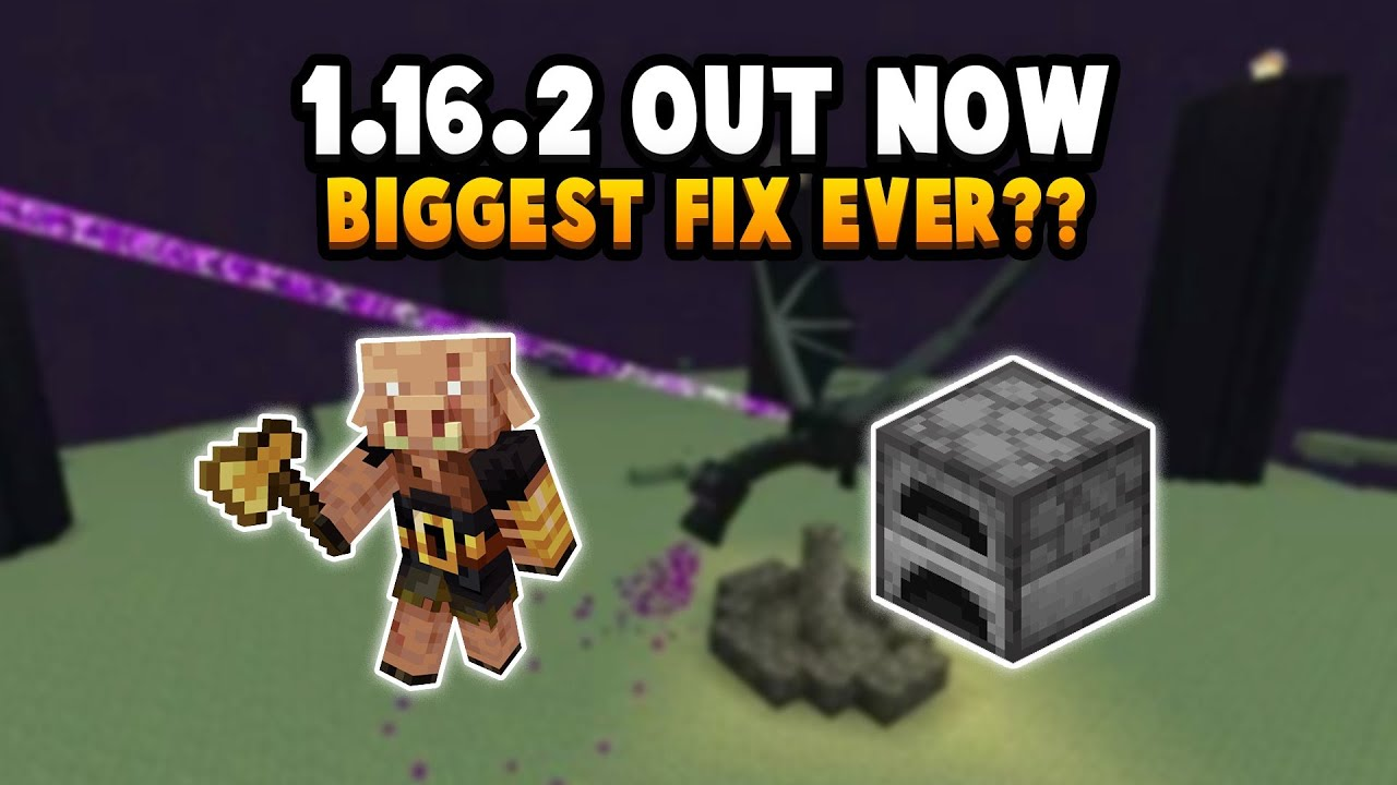 This Is Minecraft S Most Serious Bug Ever 1 16 20 Update Out Now Youtube