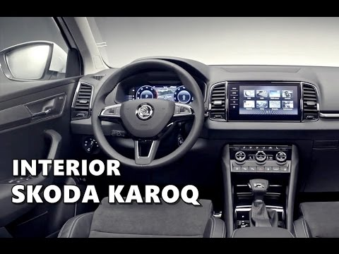 2018 skoda karoq interior design in studio automototv doovi. Black Bedroom Furniture Sets. Home Design Ideas