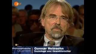 Das Philosophische Quartett  2006  Demographie als Schicksal - Das Drama der Geburtenraten