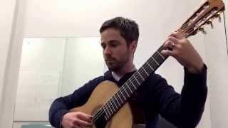 """Homenaje Pour """"Le tombeau de Claude Debussy"""" Guitar Josh McGuffie"""