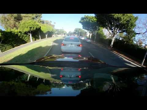 Driving Around Beverly Hills California with 360 Degrees 4k Camera VR 03