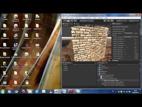 Unite 2012 - How to Benefit From Unity's Substance Integration Without Paying a Dime