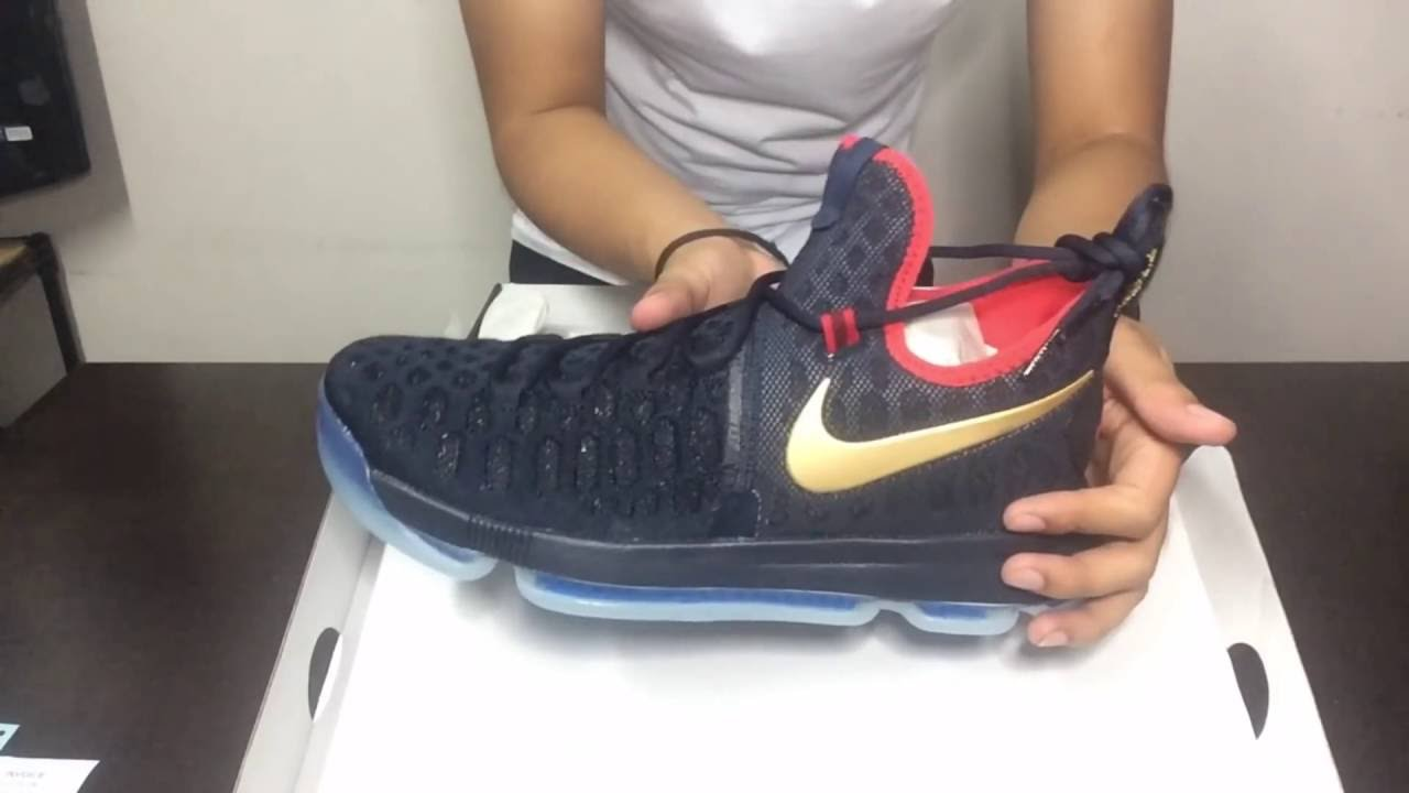 best sneakers e496b ac39f ... norway nike kd9 gold medal unboxing b0f74 339b9 ...
