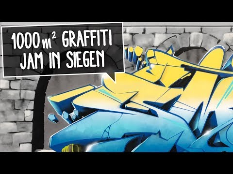 1000m² GRAFFITI JAM IN SIEGEN | Speed & Smoe