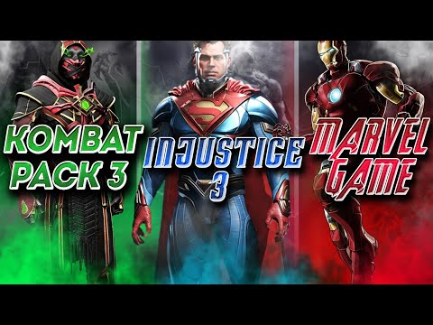 NEW Marvel Fighting Game   Kombat Pack 3 or Injustice 3   When Is Kombat Pack 3 Coming Out   MK 11  