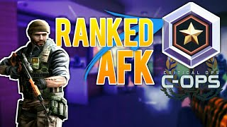 (prawie) CAŁY TEAM AFK | Ranked Games #1 Rankedy | Critical OPS Gameplay || po Polsku PL Android IOS