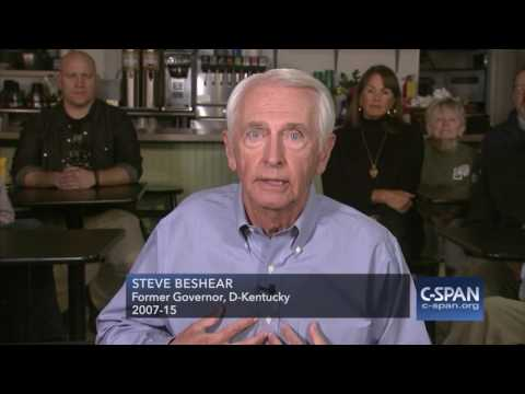 Democratic Response by Former Kentucky Governor Steve Beshear (C-SPAN)