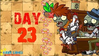 Plants vs Zombies 2 - Wild West - Day 23 [Don't Trample the Flowers] No Premium