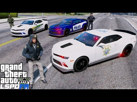 GTA 5 LSPDFR #685 Chevy Camero Police, Sheriff & Highway Patrol - Happy New Years! thumbnail