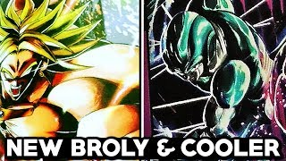 NEW GREEN BROLY & META COOLER LEGENDS REVEAL! Dragon Ball Legends Meta Cooler Scans