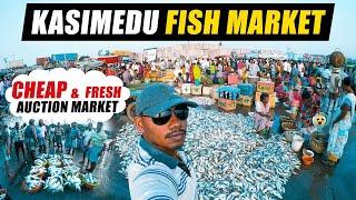Kasimedu Fish Market, Chennai