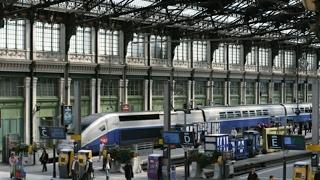 16 Урок французского от Дюмонов ! На вокзале ! Часть 2 !