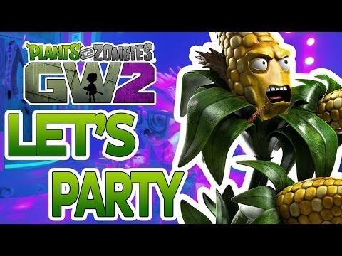 Plants Vs Zombies: Garden Warfare 2 - Let's Unlock A Party Character!