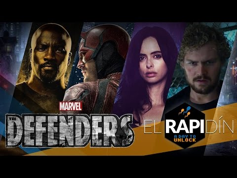 Reacción al trailer de The Defenders [El Rapidín] A Day To Unlock