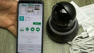 Yi 1080P Dome 360 Degree WiFi Home Camera