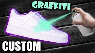 Download GRAFFITI Custom Air Force 1!! - Jordan Vincent Mp3 and Videos