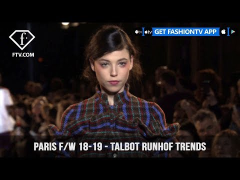 Talbot Runhof German Trends Paris Fashion Week Fall/Winter 2018-19 | FashionTV | FTV