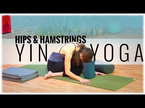 Yoga with SarahJane Steele: Yin Yoga for the Hips and Hamstrings