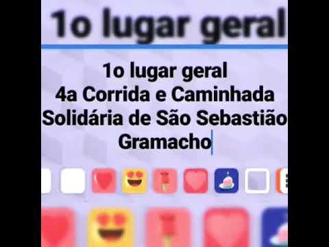 4a Corrida e Caminhada Solidária de São Sebastião de Gramacho em Duque de Caxias - Louvor - Campeã
