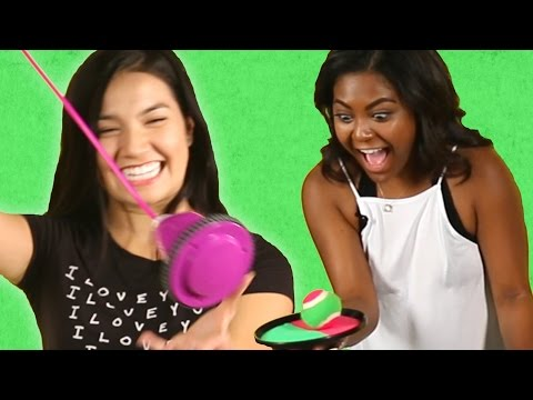 Teens Review '90s Toys
