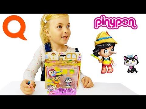 Обзор PinyPon художник Пиноккио и его кошка 700012051