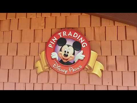 "Tienda ""Pin Trading"" en Disney Springs"