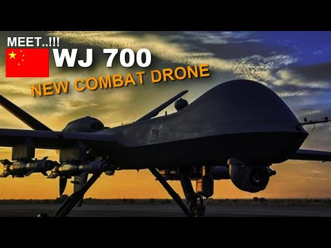 WJ 700 drone!! China's new armed drone takes maiden flight