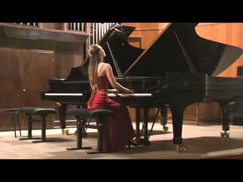 J.S.Bach Prelude and fugue gis-moll WTC-1  Varvara Tarasova(piano)