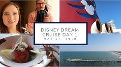 Embarkation Day + A Delicious Dinner at Palo | Disney Cruise Day 1 | May 27, 2019