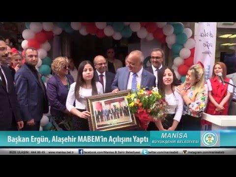 Başkan Ergün, Alaşehir MABEM'in Açılışını Yaptı