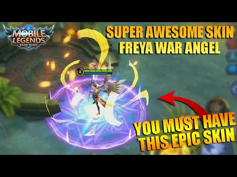Super Awesome Epic Skin FREYA WAR ANGEL Review and Gameplay – Mobile Legends