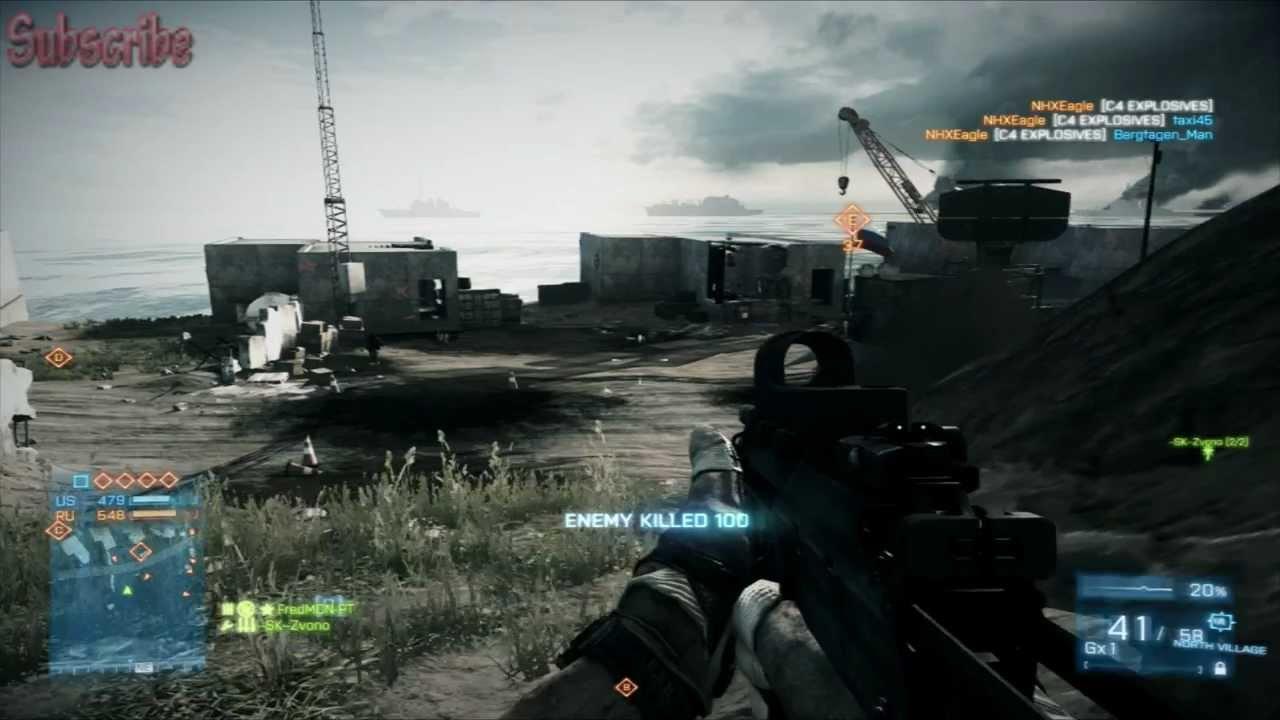 Battlefield 3 - PC - Multiplayer Gameplay 1080p - GameVicio
