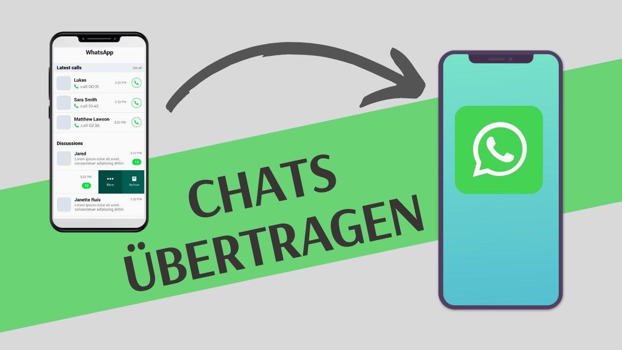 Whatsapp Chats Auf Iphone übertragen