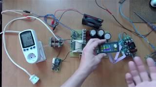 видео Блок питания стабилизированный БП-1А