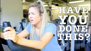 Thoughts We All Have At The Gym !! Gym Struggles !!