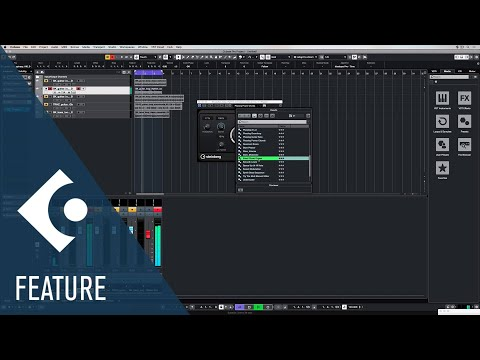 Phaser | Effects and Plug ins Included in Cubase