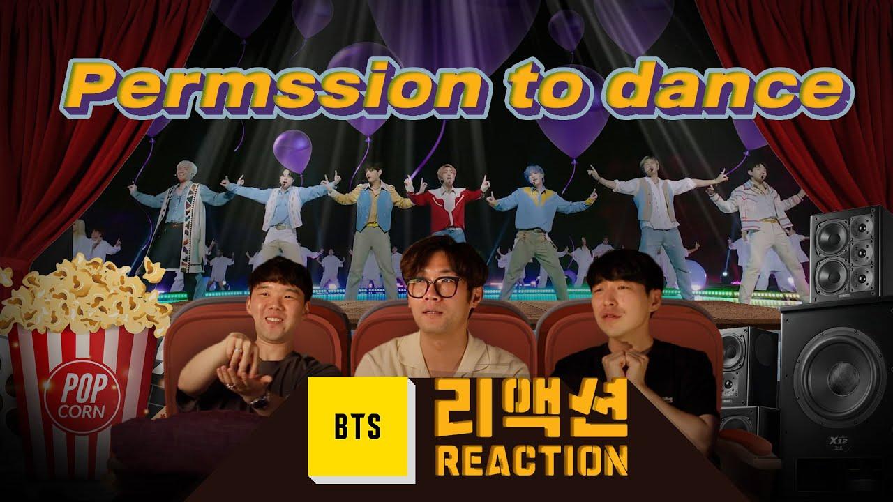[ENG SUB] BTS Permission to dance comeback special Reaction l 퍼미션 투 댄스 컴백 스페셜 리액션🎬 [이유있는 영화관]