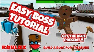 NEW BOSS -EASY TUTORIAL - BEST STRATEGY to COMPLETE EVENT - Roblox - Build a Boat for Treasure